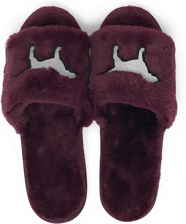victoria secret pink open toe slippers