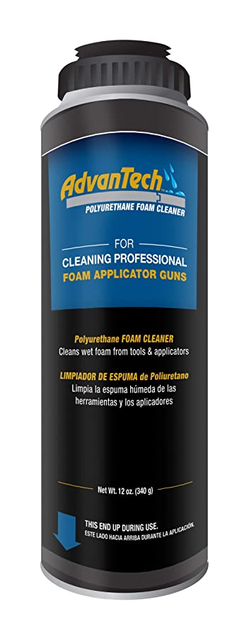 AdvanTech Subfloor Adhesive Dispensing Gun Cleaner | Polyurethane Cleaner | J.M. Huber | Includes (6