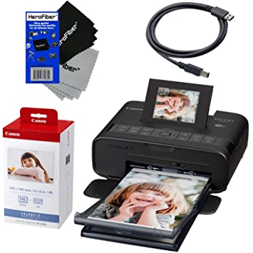 canon selphy cp1200 wireless color photo printer black canon kp 108in color - Canon Selphy Color Ink Paper Set