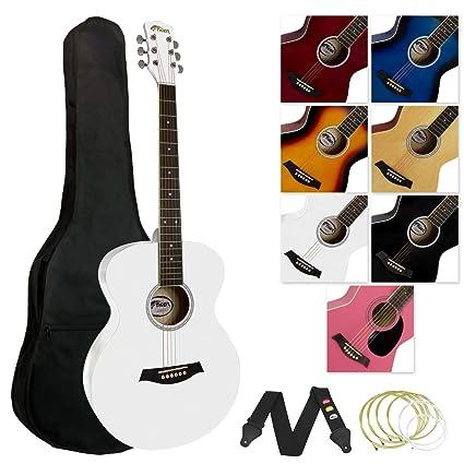 Tiger ACG2-WH - Guitarra acústica (incluye accesorios), color ...