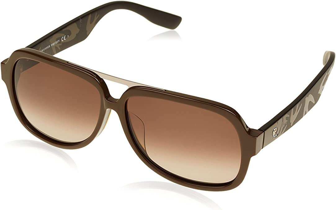McQ Alexander McQueen Sunglasses 0040//F//S SLZ Blue Crystal Grey