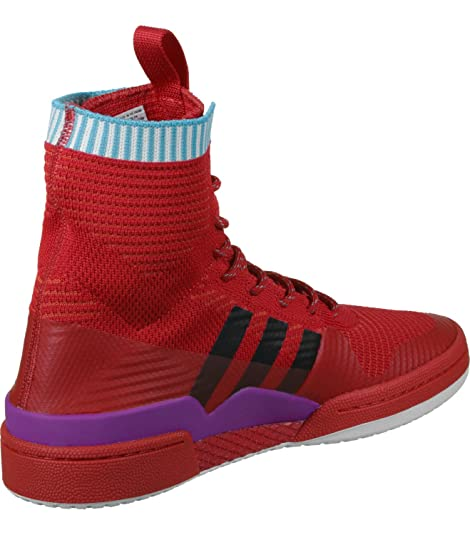 adidas Forum Winter PK, Zapatillas de Deporte Unisex Adulto, Rojo (Escarl/Negbas