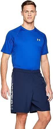 Under Armour Woven Graphic Wordmark Shorts - Pantalón Corto Ultraligero y Transpirable, cómodo y Ancho pantalón de Deporte Hombre