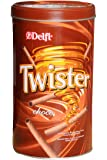 Delfi Twister Chocolate, Weight 320g (Red and Brown)