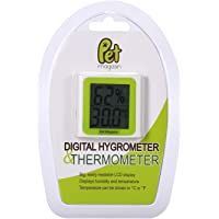 Pet Magasin Digital Thermometer and Hygrometer for Terrariums and Aquariums