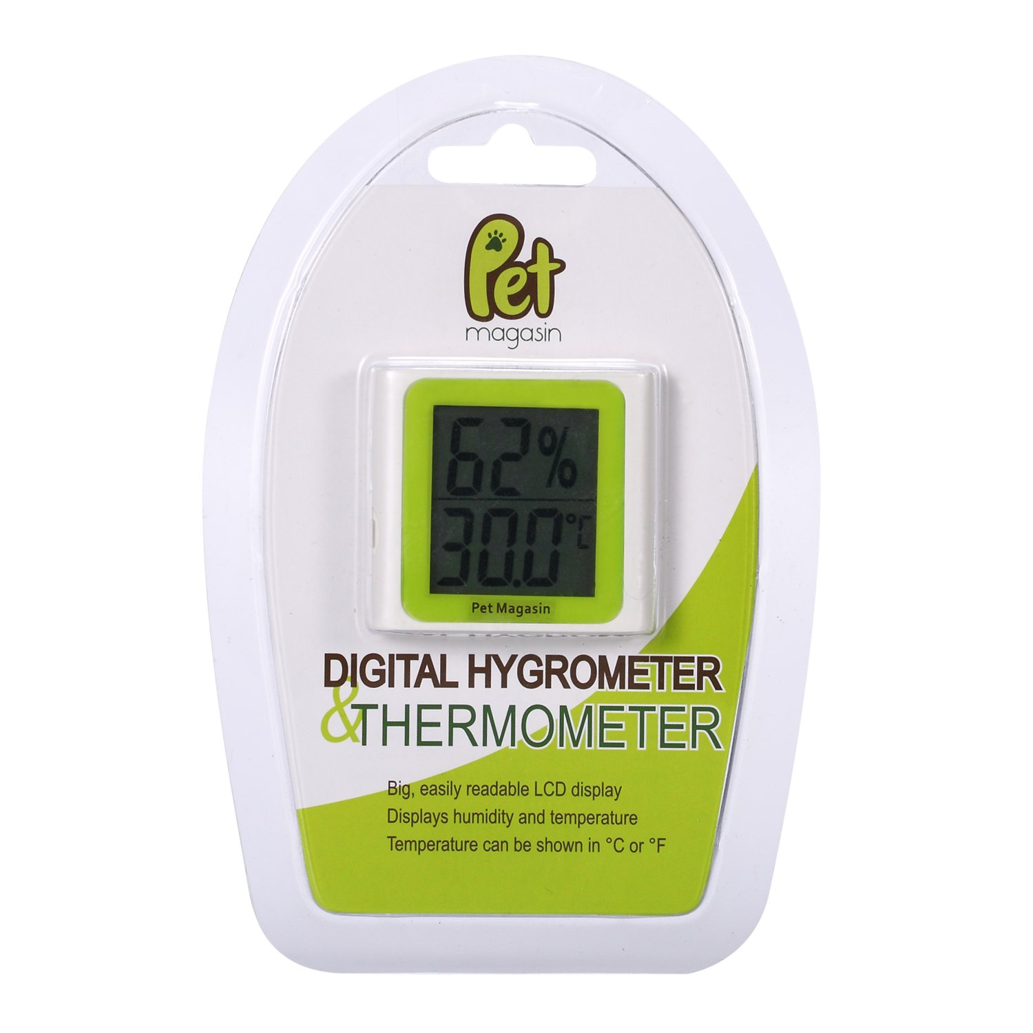 Amazon Pet Magasin Digital Thermometer and Hygrometer [Battery