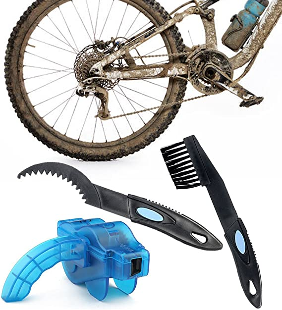 T-wilker Limpiador de Cadena de Bicicleta, combinación de cepillos ...