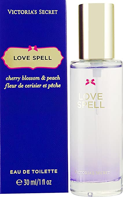 Victorias Secret Love Spell 30 ml Eau de Colonia fragancia para mujer, con bolsa de