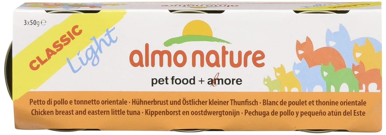 Almo nature Gato Light Pecho po/tonnetto GR50: Amazon.es: Productos para mascotas