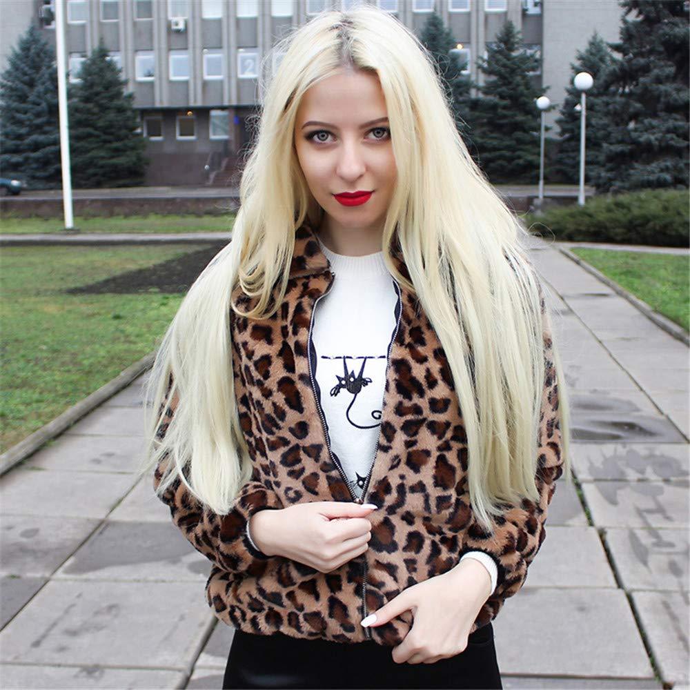 Women Autumn Long Sleeve Fur Pullover Sweatshirt Hoodie Crop Top
