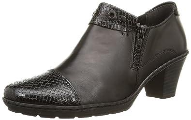 Rieker 57161 noir - Chaussures Escarpins Femme