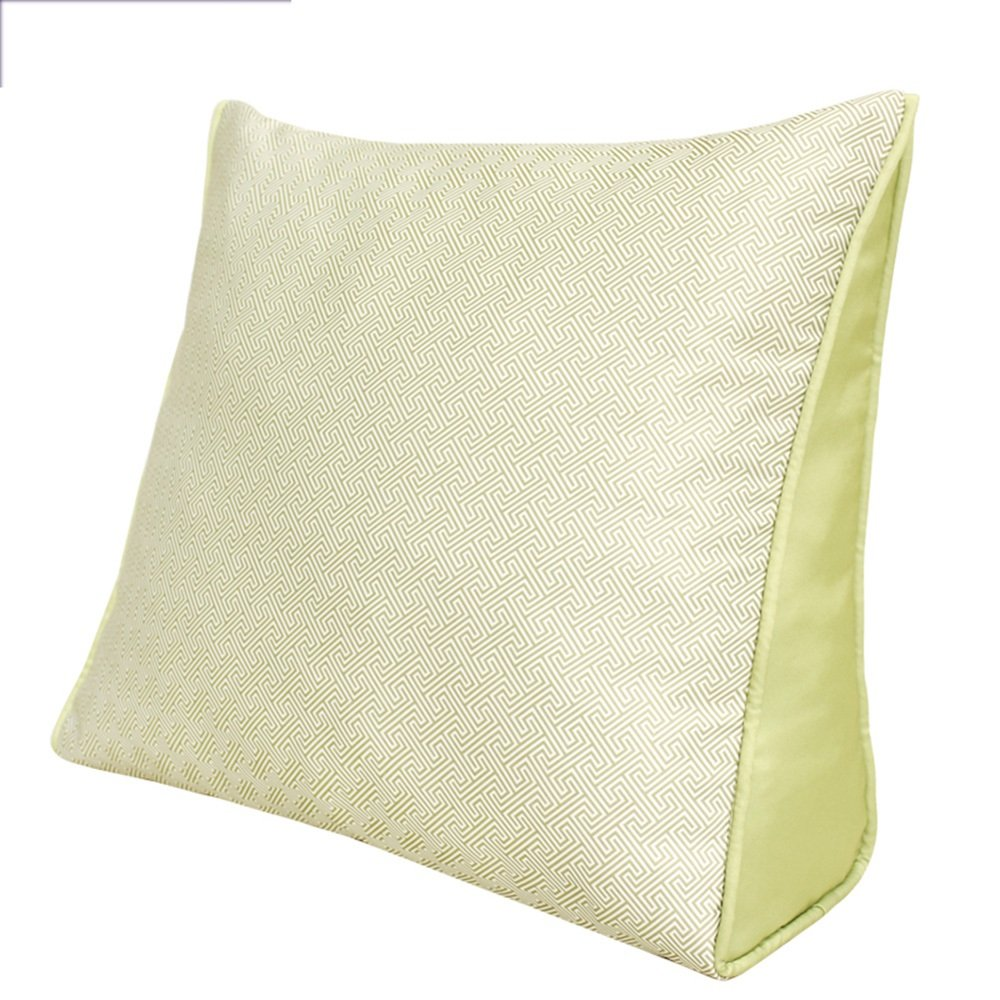 Bedside Triangle Cushions Office Waist Pillow ( Size : 6050cm )