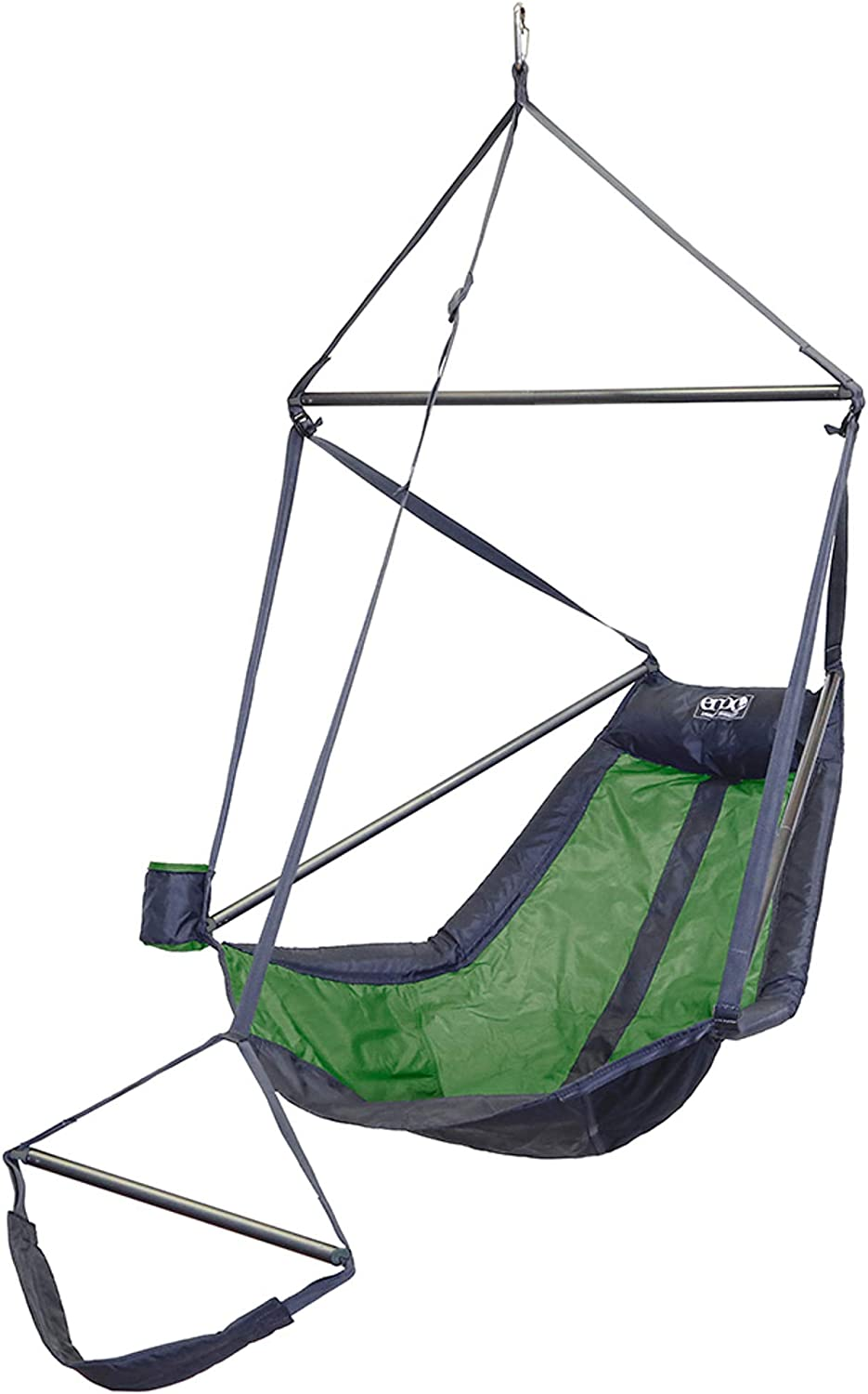 ENO, Eagles Nest Outfitters Lounger Hanging Chair, Lime/Charcoal