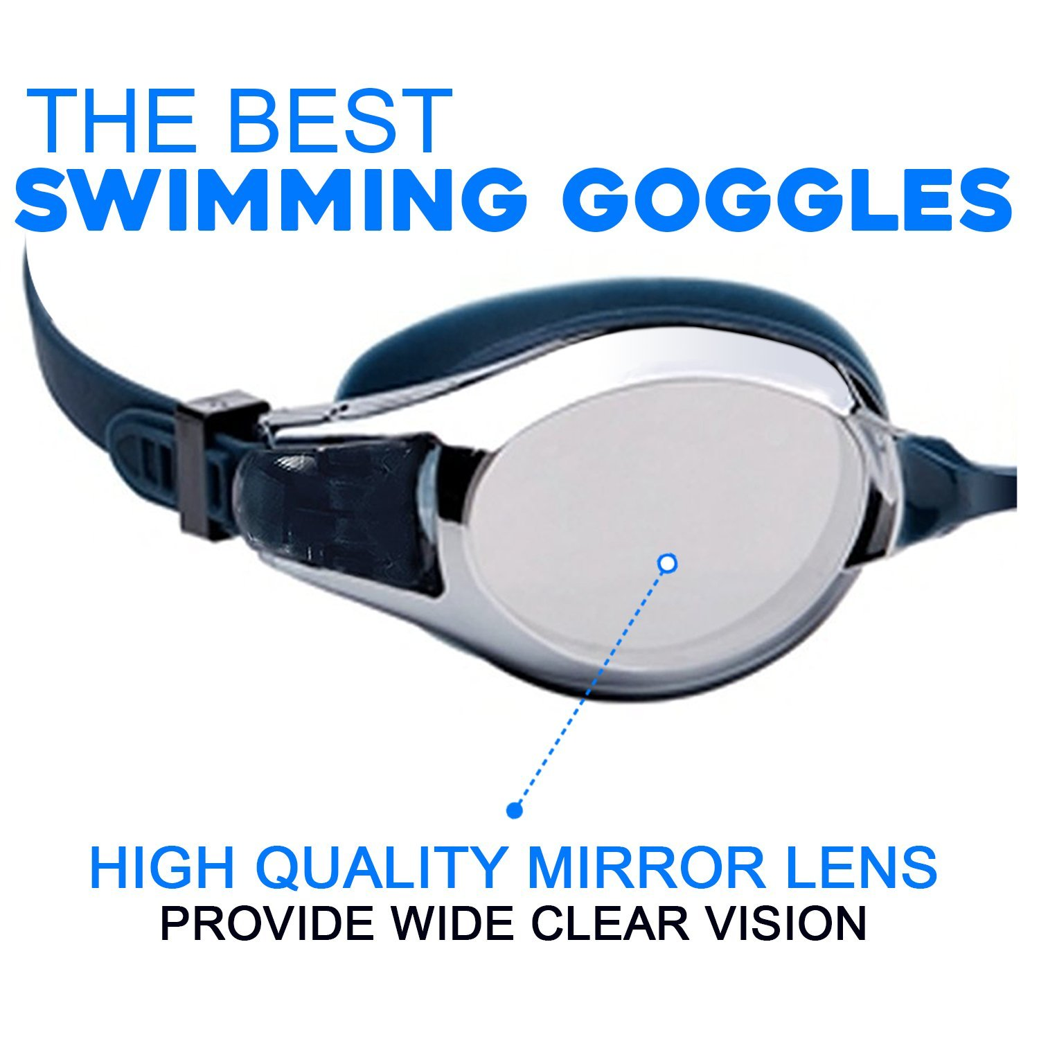 the best goggles  Amazon.com : Swim Goggles, The Best Swimming Goggles Anti Fog UV ...