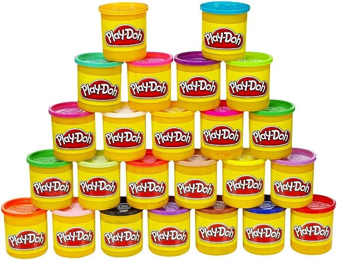 Play-Doh 24 Pack 24 Botes De Colores (Hasbro 203838480) , color ...