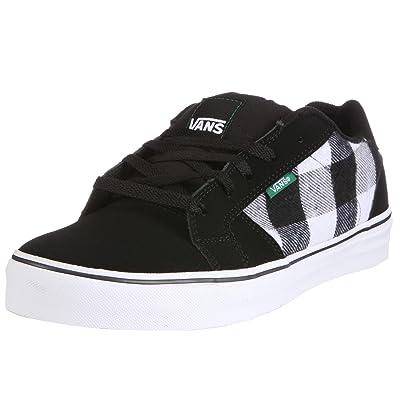 eab2e62000 Vans Men S Widow Vulc (Plaid) Black G Trainer Vkx72Dk 090 8 UK   Amazon.co.uk  Shoes   Bags