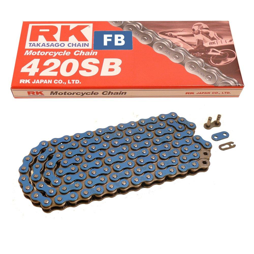 BLAU 15//38 offen Kette RK FB 420 SB 124 Kettensatz Suzuki RV 50 73-81