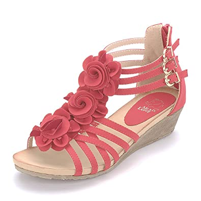 Amazon.com | Alexis Leroy New Arrival Women Fashion Summer Wedge ...
