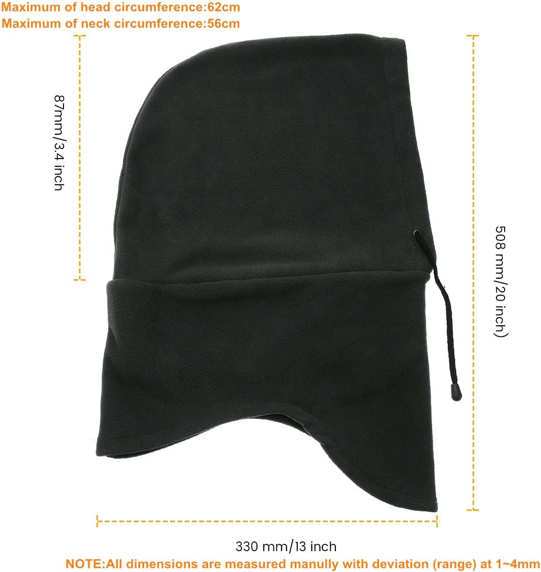 Drapeau Portugais en Microfibre Cache-Cou /écharpe Chapeaux Visage Cagoule Bandana pour la poussi/ère,
