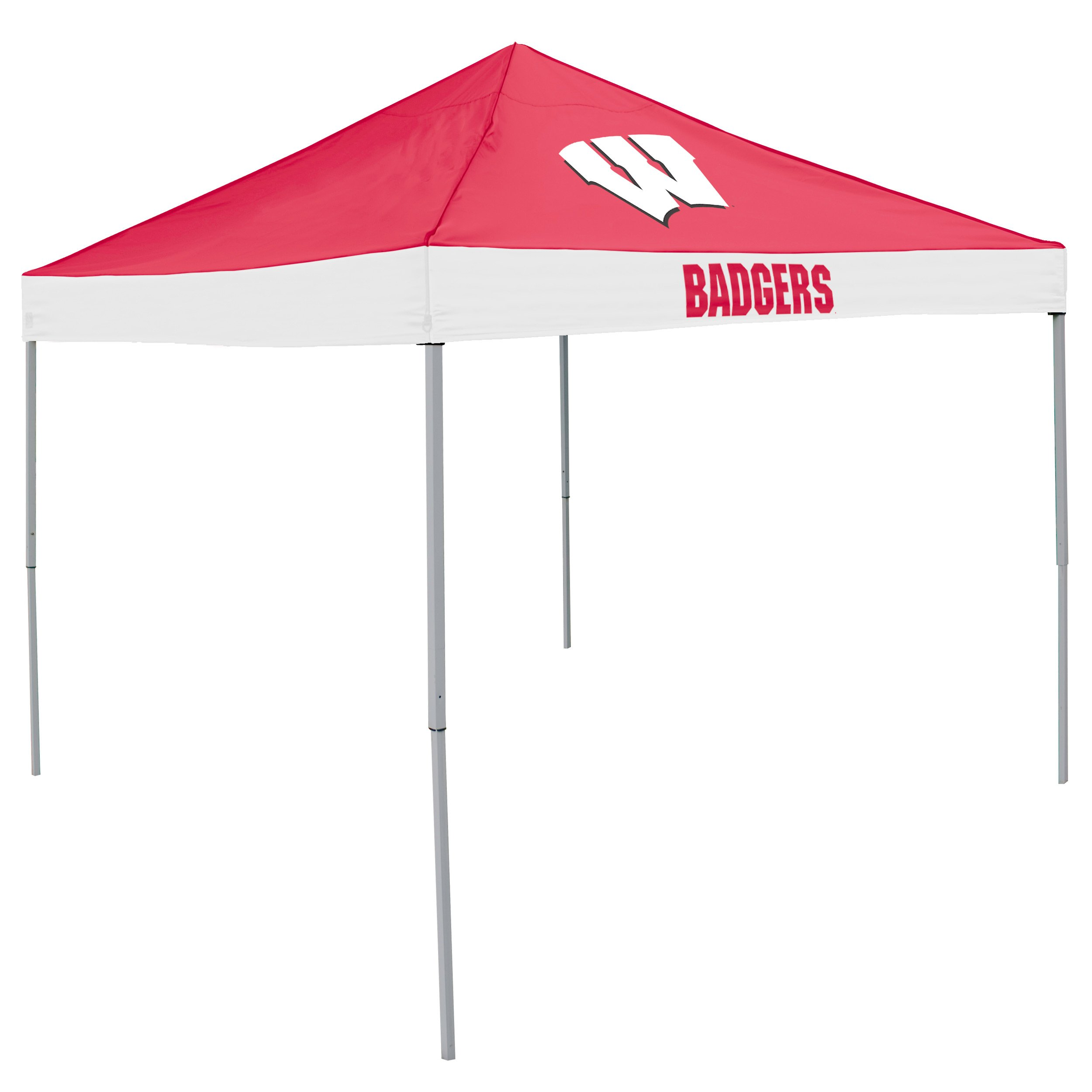 NCAA Wisconsin Badgers Economy Tailgate Tent by Logo Brands