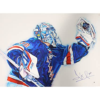 f8f3183f1 Image Unavailable. Image not available for. Color  Henrik Lundqvist Signed  ...