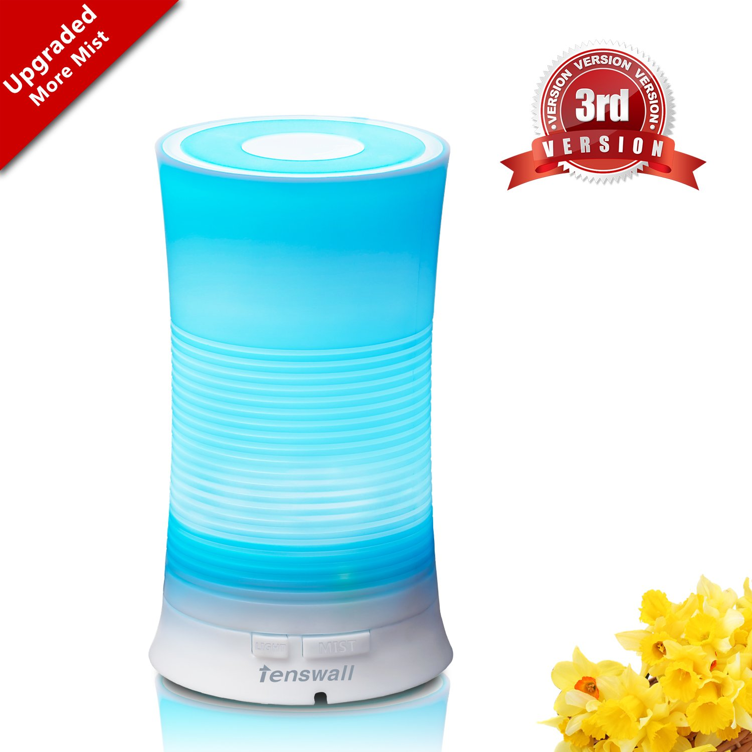 Tenswall Aroma Ultrasonic Essential Oil Diffuser