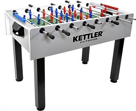 Kettler - Mesa de futbolín de carbono para exteriores: Amazon.es ...