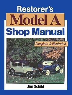 amazon com 1928 1929 1930 1931 ford model a service manual book rh amazon com Model a Ford Restoration Manual 1929 Model A Frame