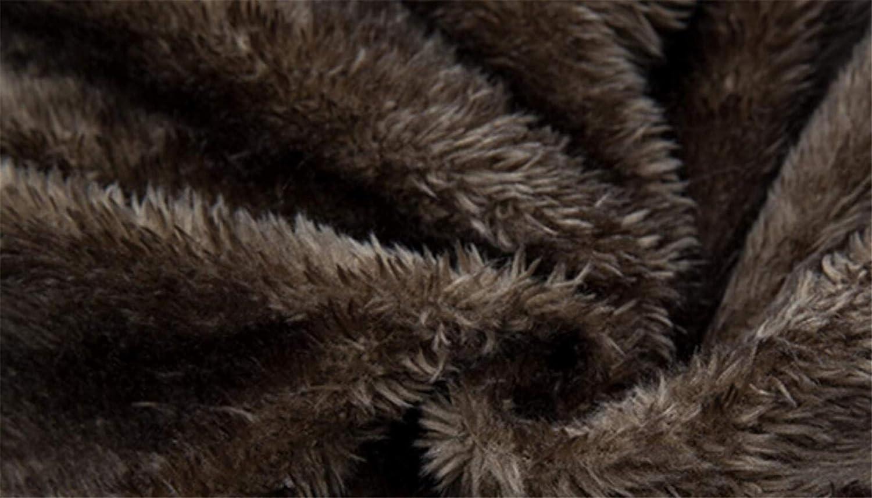 Frieed Men Fleece Linen Faux Fur Hooded Winter Camouflage Print Long Down Jacket