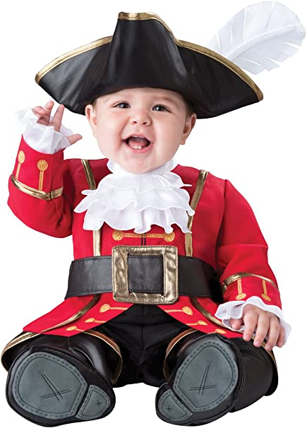 Captain Cuteness Baby Infant Costume - Infant Large