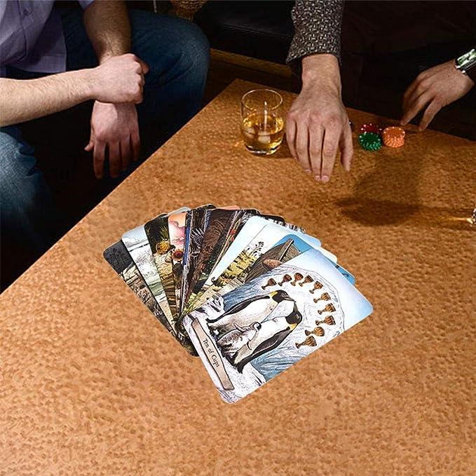 Quiet.T 78 PCS/Set Playing Cards New Animal Totem Tarot Cards ...
