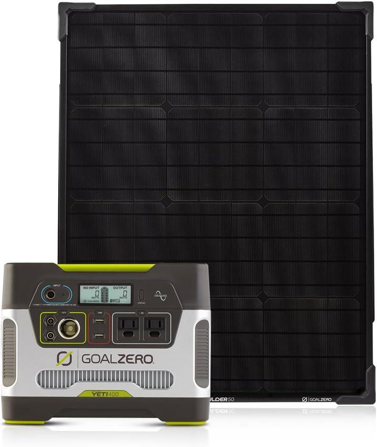 Goal Zero Yeti 400 Portable Power Station Kit