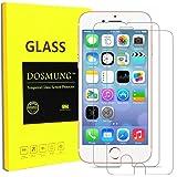 iPhone8フィルム iPhone7フィルム-DOSMUNG(2枚セット iPhone8/7 ガラスフィルム- 旭硝子 9h 硬度 透明度98%