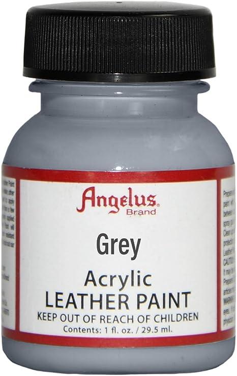 Amazon.com: Angelus Leather Paint 4 oz Grey