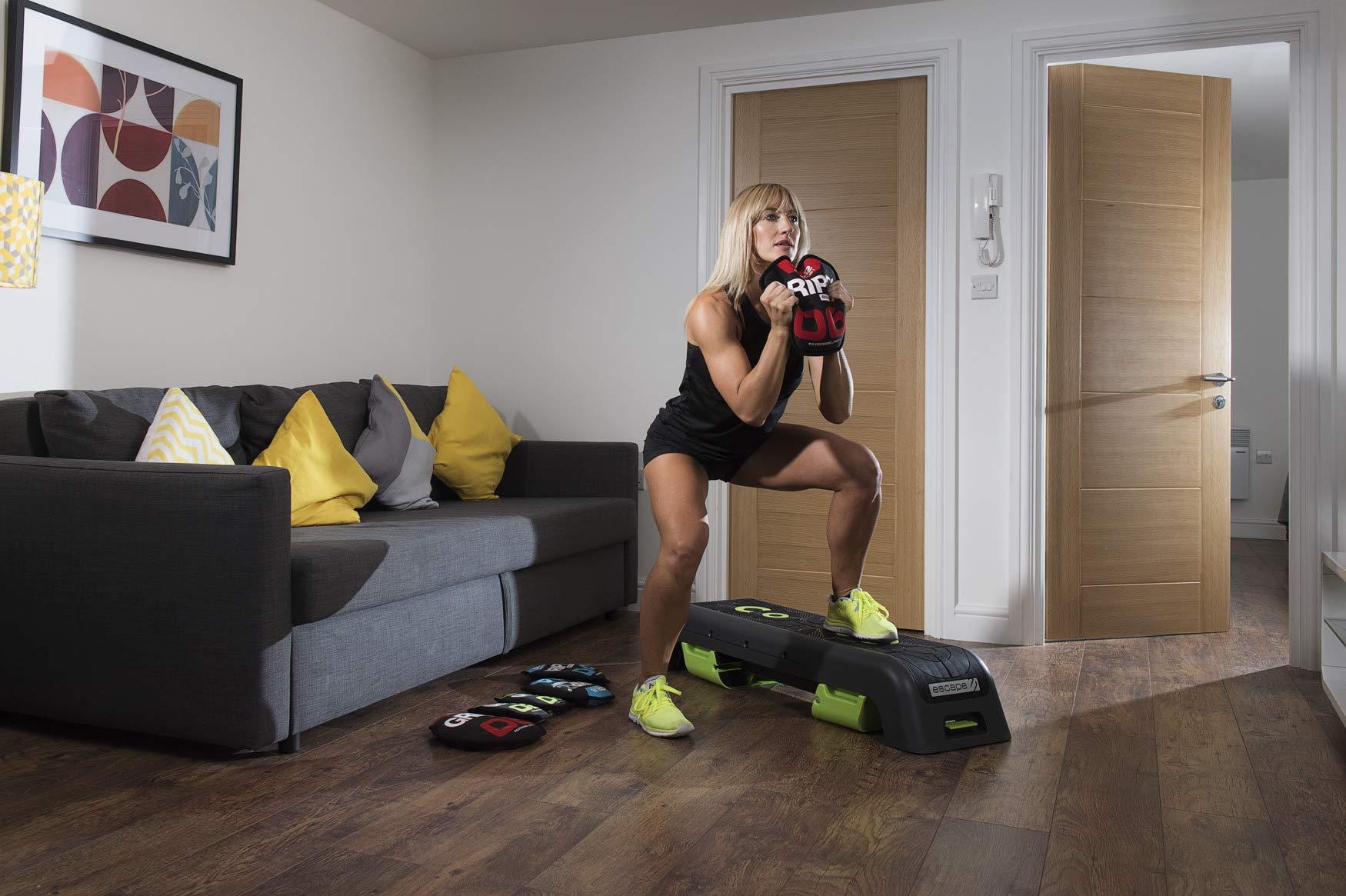 Escape Fitness USA GRIPR - GRIPR Resistance Trainer, Red, 16kg/35lbs