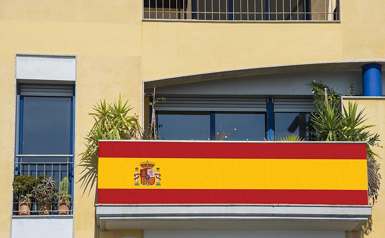 Oedim Bandera de España 250x110cm | Reforzada y con Pespuntes ...
