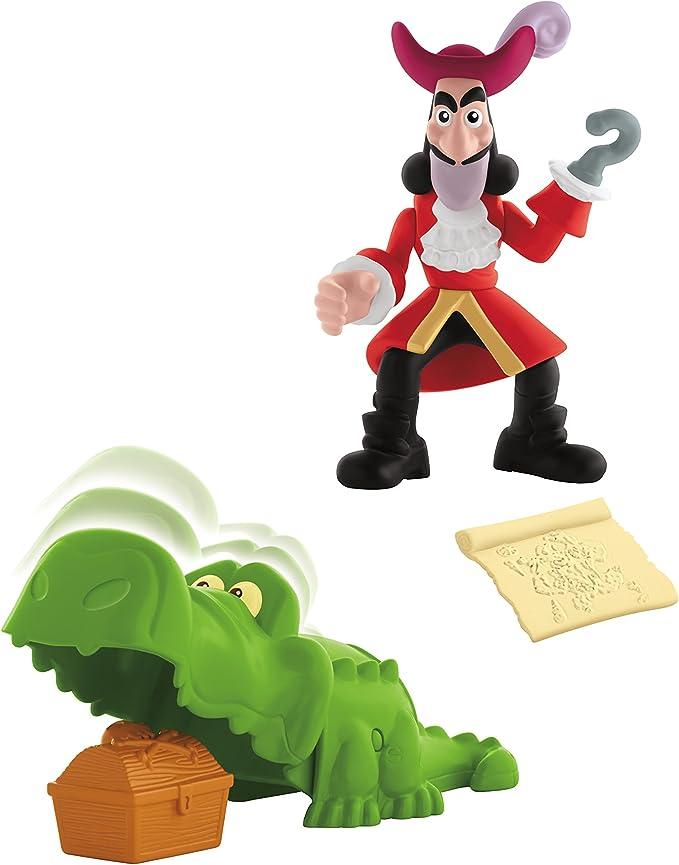Jake y los Piratas - Pack con Figuras y Accesorios, Hook (Mattel ...