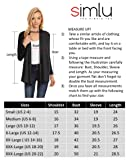 Womens Open Drape Cardigan Reg and Plus Size
