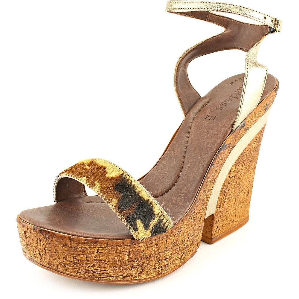 Matisse Womens Strappy Wedge Vow Italy Made Shoes Multi-Color Medium B M VOWLLMUL
