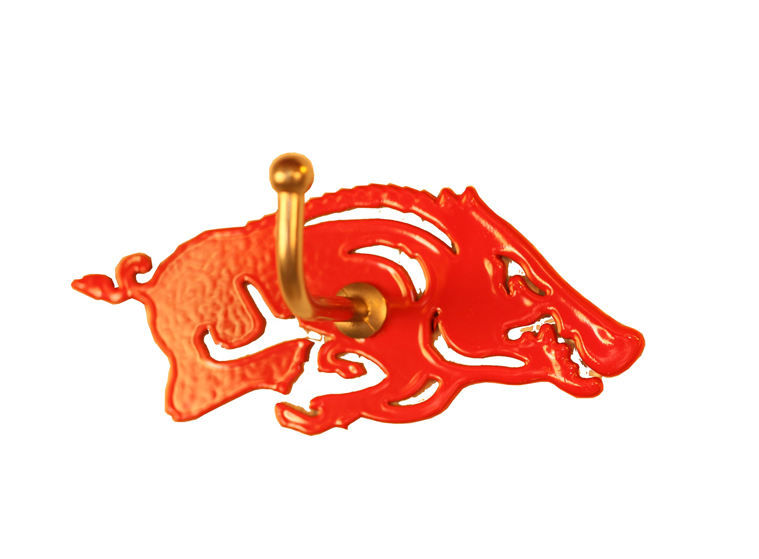 Henson Metal Works Arkansas Collegiate Medium Color Logo Wall Hook by Henson Metal Works (Image #1)