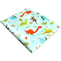"""5 Layers Breathable Waterproof Changing Mat and Mattress Pad and Sheet Protector, Multi-Functional for Bed Pad, Children, Adults, Elderly, Picnic, Pets Pads, Training Pad (S Dinosaur 27.6"""" x 35.4"""")"""