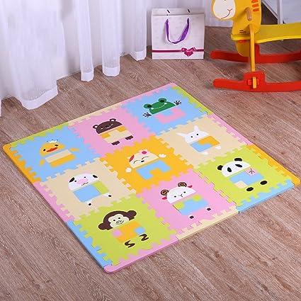 alfombra LINGZHIGAN Estera de Escalada para bebé Puzzle ...