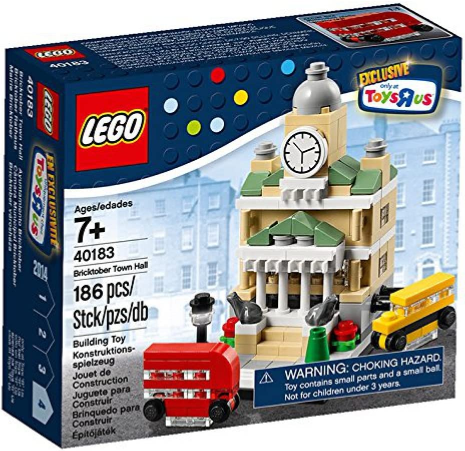 Lego, Exclusive 2014 Bricktober Set, Town Hall #4/4 (40183)