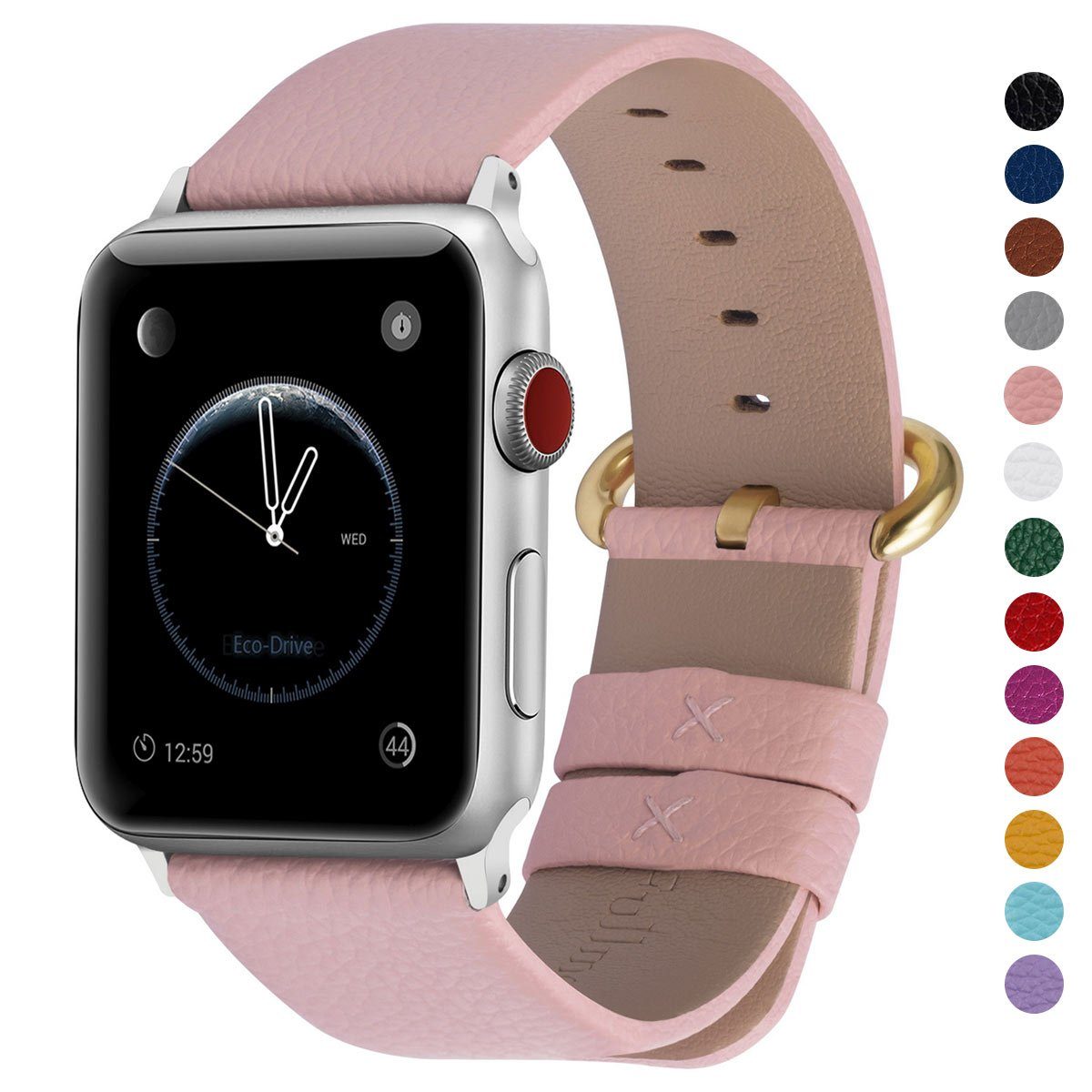 Malla Cuero para Apple Watch (42/44mm) FULLMOSA [77YJ3PJ3]