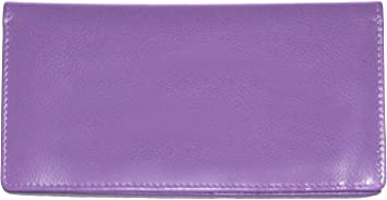 iLi Leather RFID Blocking Checkbook Cover w// ID and card slots Pen Holder 7406