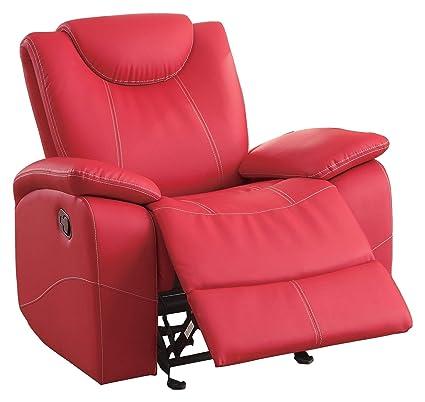 Amazon.com: Tagnon 3PC Set Double Reclining Sofa, Glider Console ...