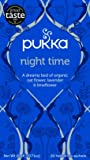 Pukka Night Time, Organic Herbal Tea with Valerian (4 Pack, 80 Tea bags)