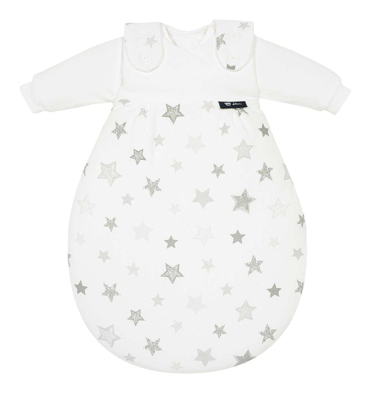 Alvi Baby M/äxchen Original Design:Silver Stars silbergrau 786-9 Kinderschlafsack mitwachsend /& atmungsaktiv Gr/ö/ße:80//86 Alvi Au/ßensack /& zwei Innens/äcke Babyschlafsack 3-teilig