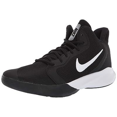 Nike Precision III Basketball Shoe Black/White 9 Regular US | Basketball