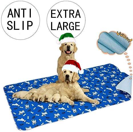 Yangbaga Empapadores Perros, Pañales de Perro Lavable y Reutilizables Empapadores de Entrenamiento para Adecuado para Perros Pequeños y Medianos o ...